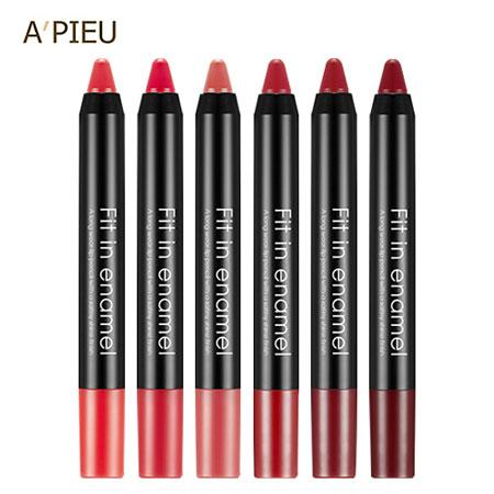 韓國A'PIEUFitinenamel琺瑯光漆唇筆1.6g唇筆唇彩口紅唇膏ApieuAPIEU【B063002】