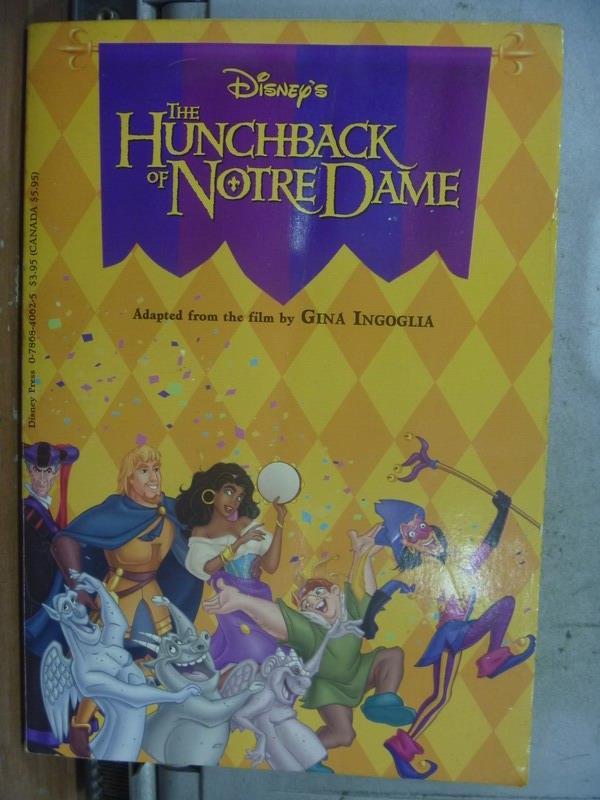 【書寶二手書T5/原文小說_ODW】The Hunchback of Notre Dame_迪士尼