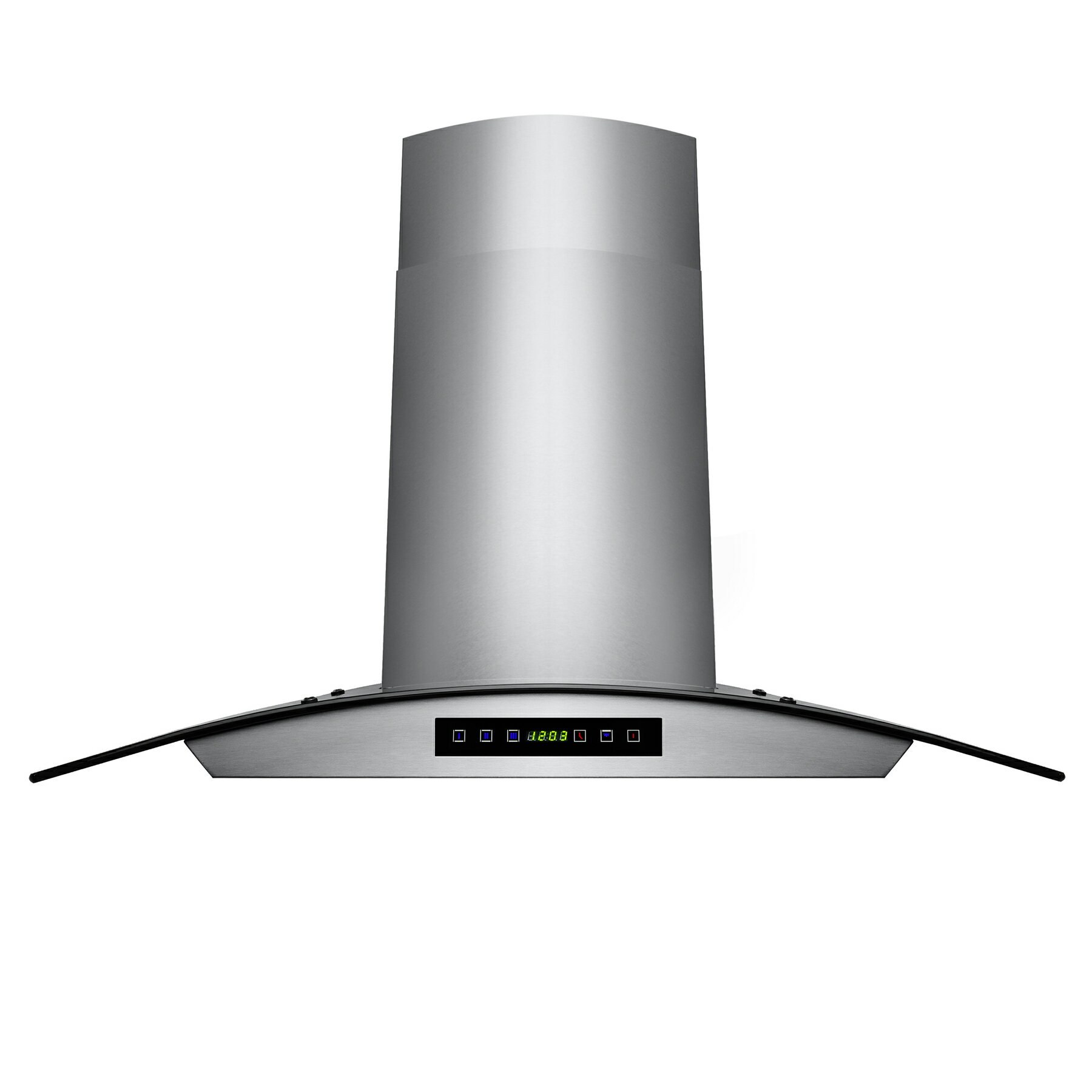 "AKDY New 36"" Wall Mount Stainless Steel Glass Range Hood GV-H703C-B90 Vents 380 CFM 2"