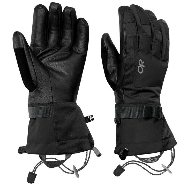 Outdoor Research 防水手套/滑雪手套/保暖手套 Revolution 男款 243345 0001 黑色