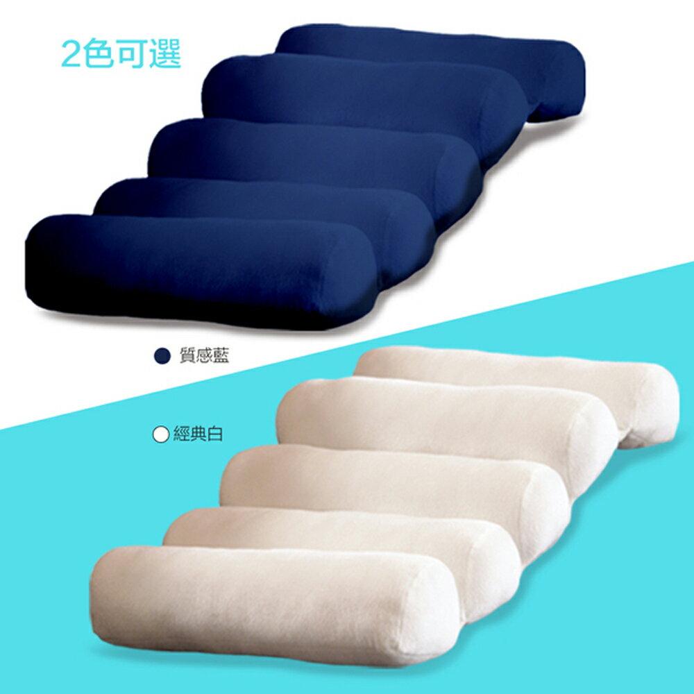 【新品到貨】美國Just Right Cushion 久坐神器 / 姿勢矯正 / 減壓撐腰 / 靠背靠墊 / 舒適抬腿枕 (藍色款1入) 4