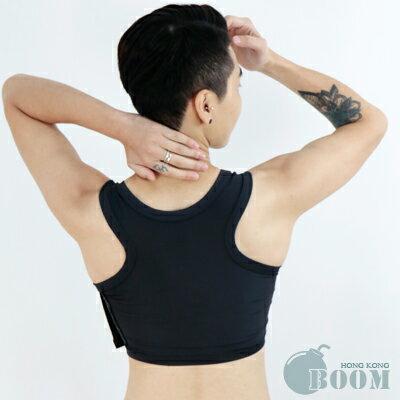 (T-STUDIO獨家代理-香港品牌束胸內衣)BOOM排扣式半身-黑 3