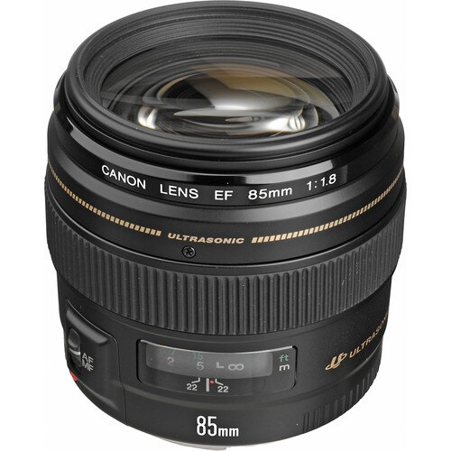 Canon EF 85mm f/1.8 USM Lens International Version 2519A003 0