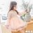 中國風旗袍蕾絲拼接燈籠袖洋裝 連身裙 橘魔法Baby magic  現貨 女童 中小童 連身裙【p0061171881404】 - 限時優惠好康折扣