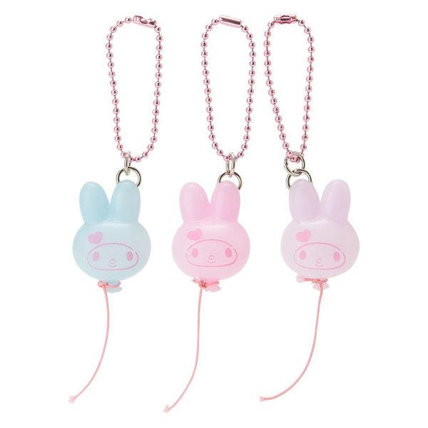 日本美樂蒂吊飾別針擁抱3入組氣球113110