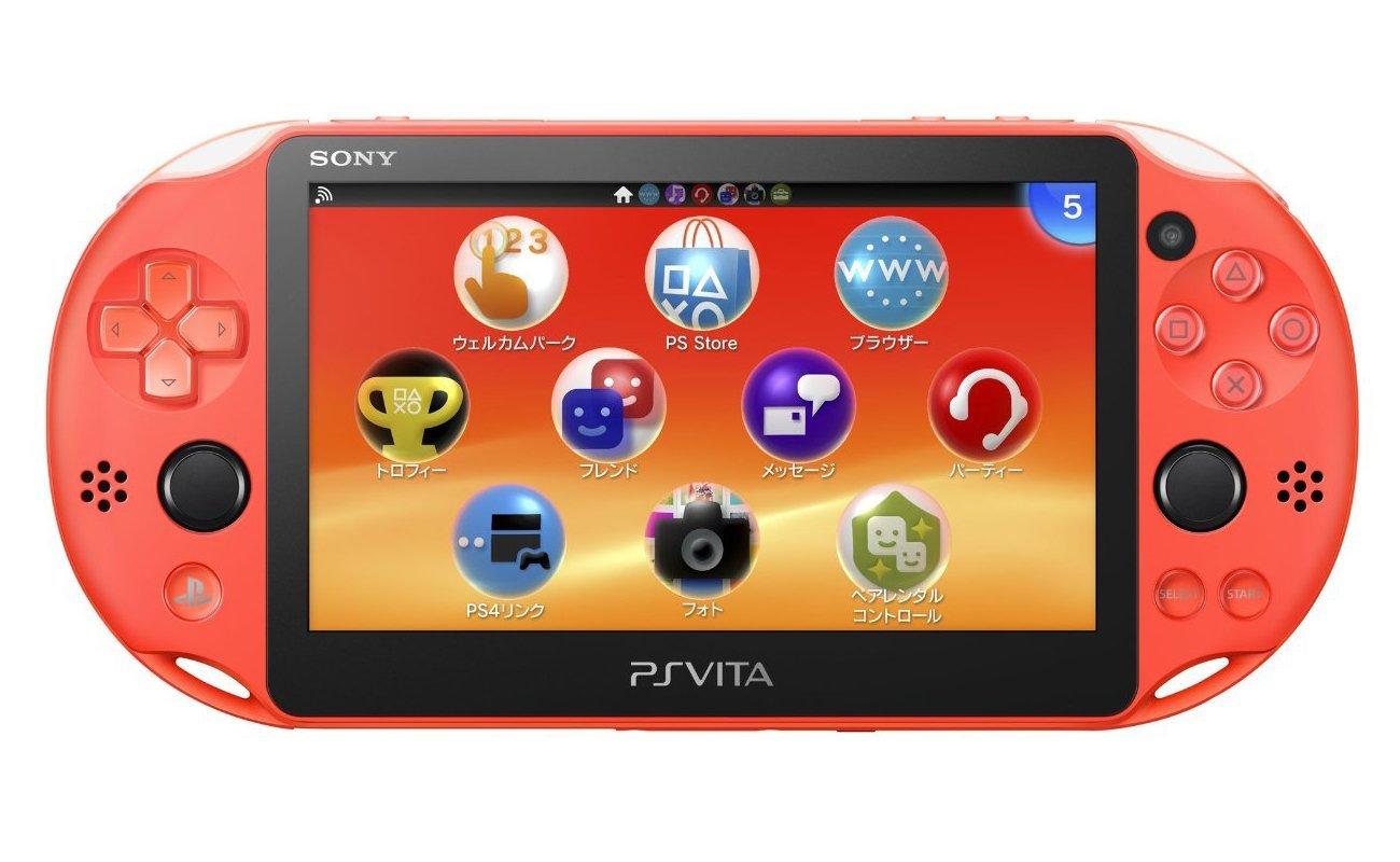 現貨供應中 公司貨 一年保固 贈保護貼 [PSV 主機] PlayStation Vita 「霓虹橘」(PCH-2007)