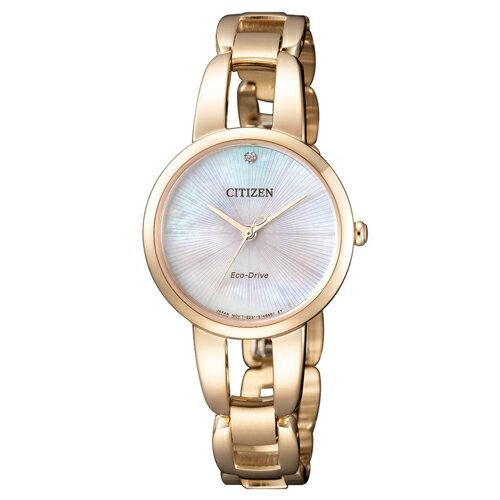 CITIZEN 星辰錶 EM0433-87D 光動能女錶