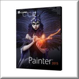 Painter 2015 中文教育版^(不含手冊^)支援原生 64 位元 Mac 與 PC