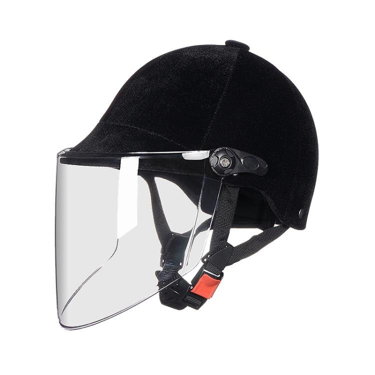 【現貨】安全帽 AD電動電瓶車頭盔夏季男女士四季馬術絲絨夏季防曬輕便夏天安全帽 【新年免運】