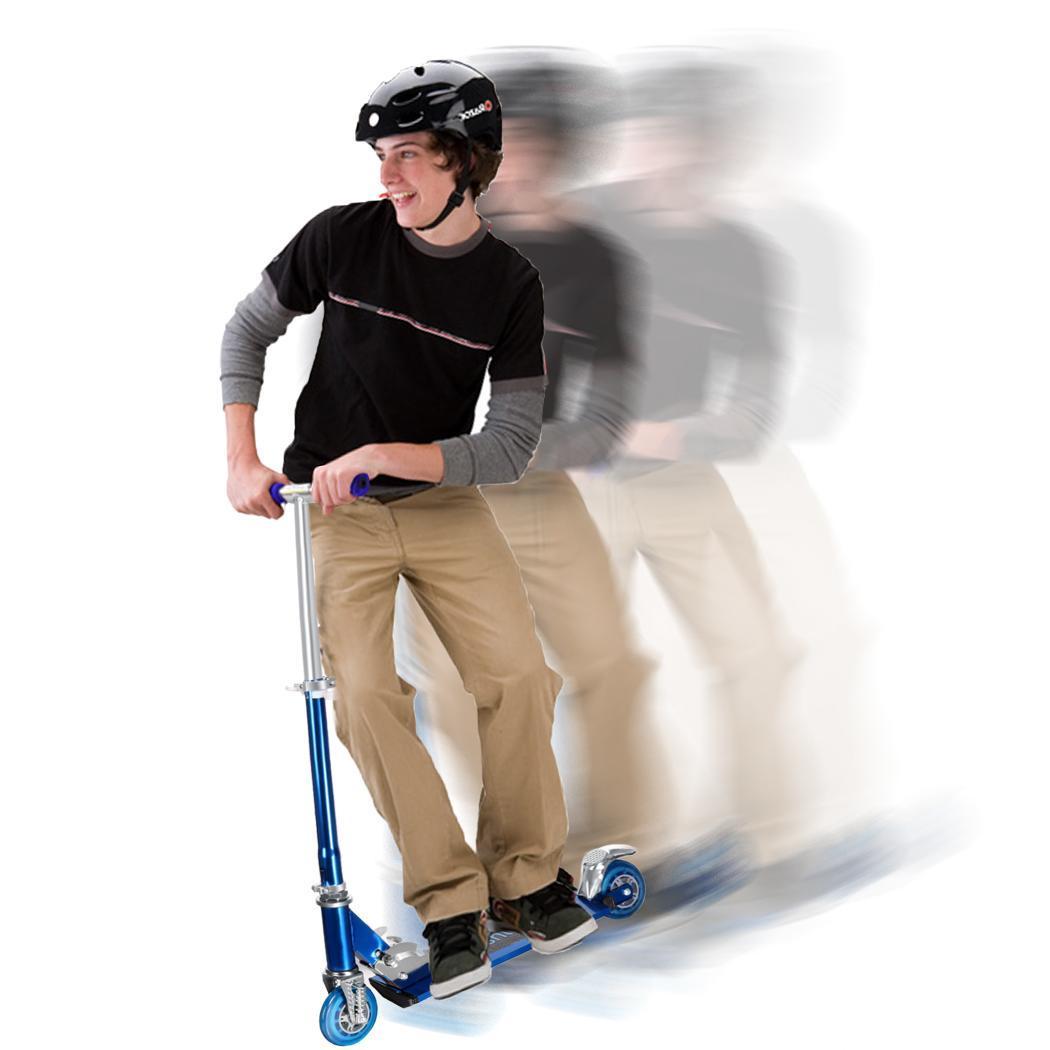 Kids Adjustable Folding 2 Wheels Aluminum Kickboard Kick Scooter 3