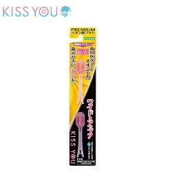 【日本kiss you】負離子牙刷補充包(極細型大刷頭軟毛H37)