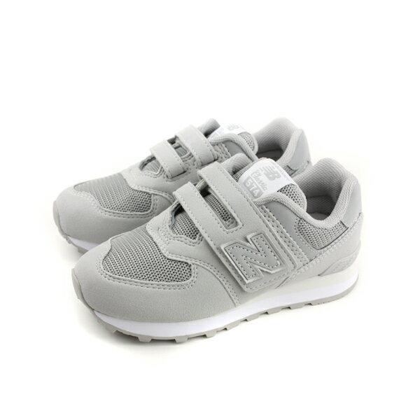 NewBalance574系列運動鞋跑鞋魔鬼氈灰色中童童鞋YV574TC-Wno459