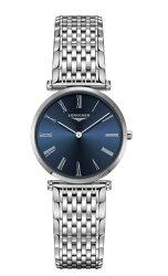 LONGINES L45124946 嘉嵐系列石英時尚腕錶/藍面 29mm