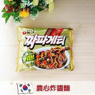 《加軒》韓國農心炸醬麵