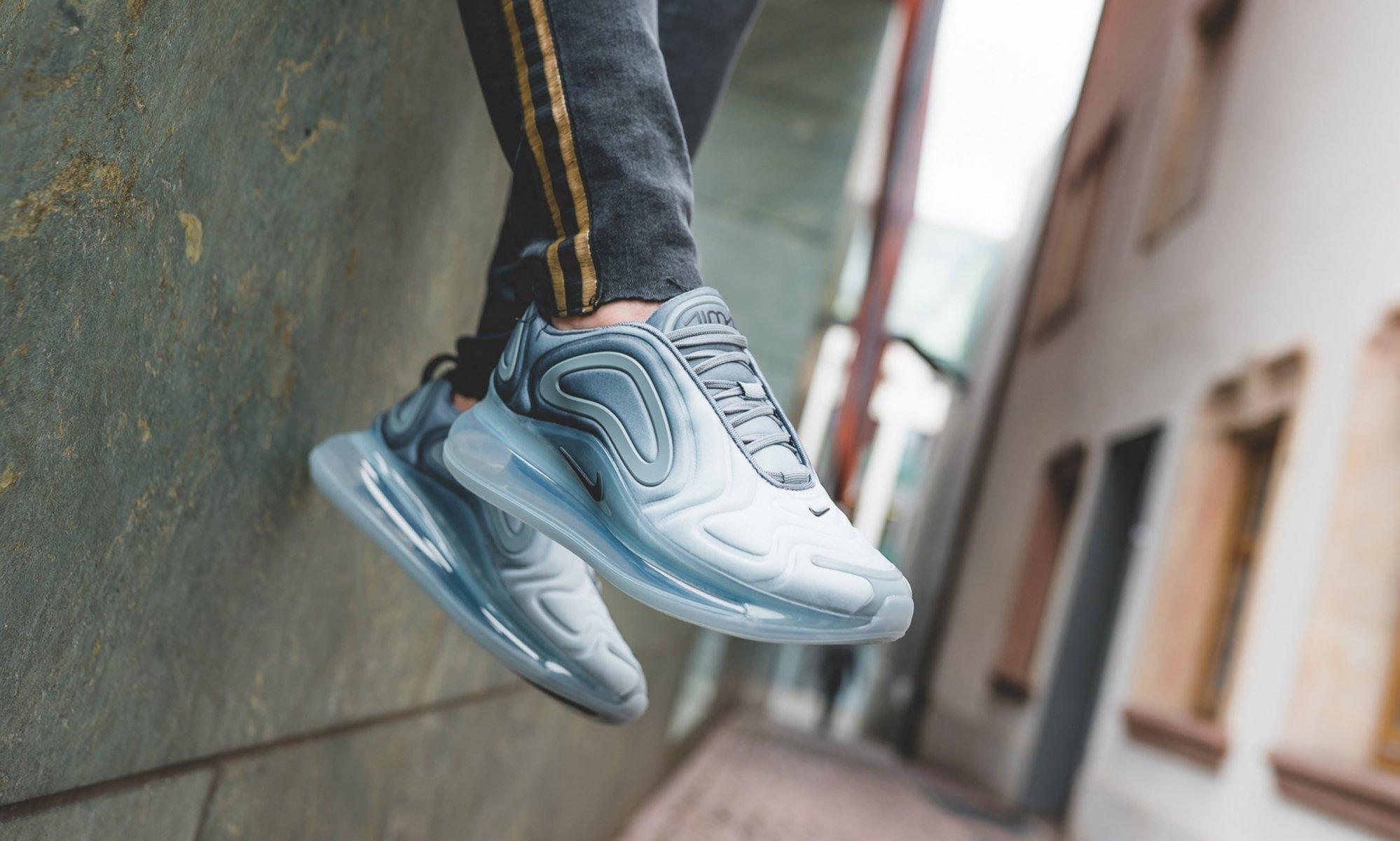 【日本海外代購】Nike Air Max 720 灰 灰銀 漸層 大氣墊 休閒 慢跑鞋 運動鞋 女鞋 AR9293-004