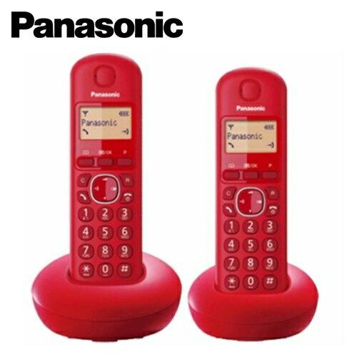 國際牌數位電話機 KXTGB212 紅【三井3C】