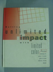 【書寶二手書T2/設計_XCQ】Getting Unlimited Impact with Limited Color