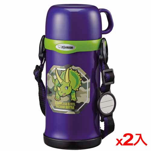 ★2件超值組★象印 童用保溫瓶-SCMC60AZ(600cc)【愛買】
