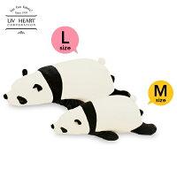 日本 LivHeart Premium Nemu nemu超夯療癒動物抱枕/M-L/熊貓-日本必買 樂天代購(2786-3568*0.7)。件件免運-日本樂天直送館-日本商品推薦