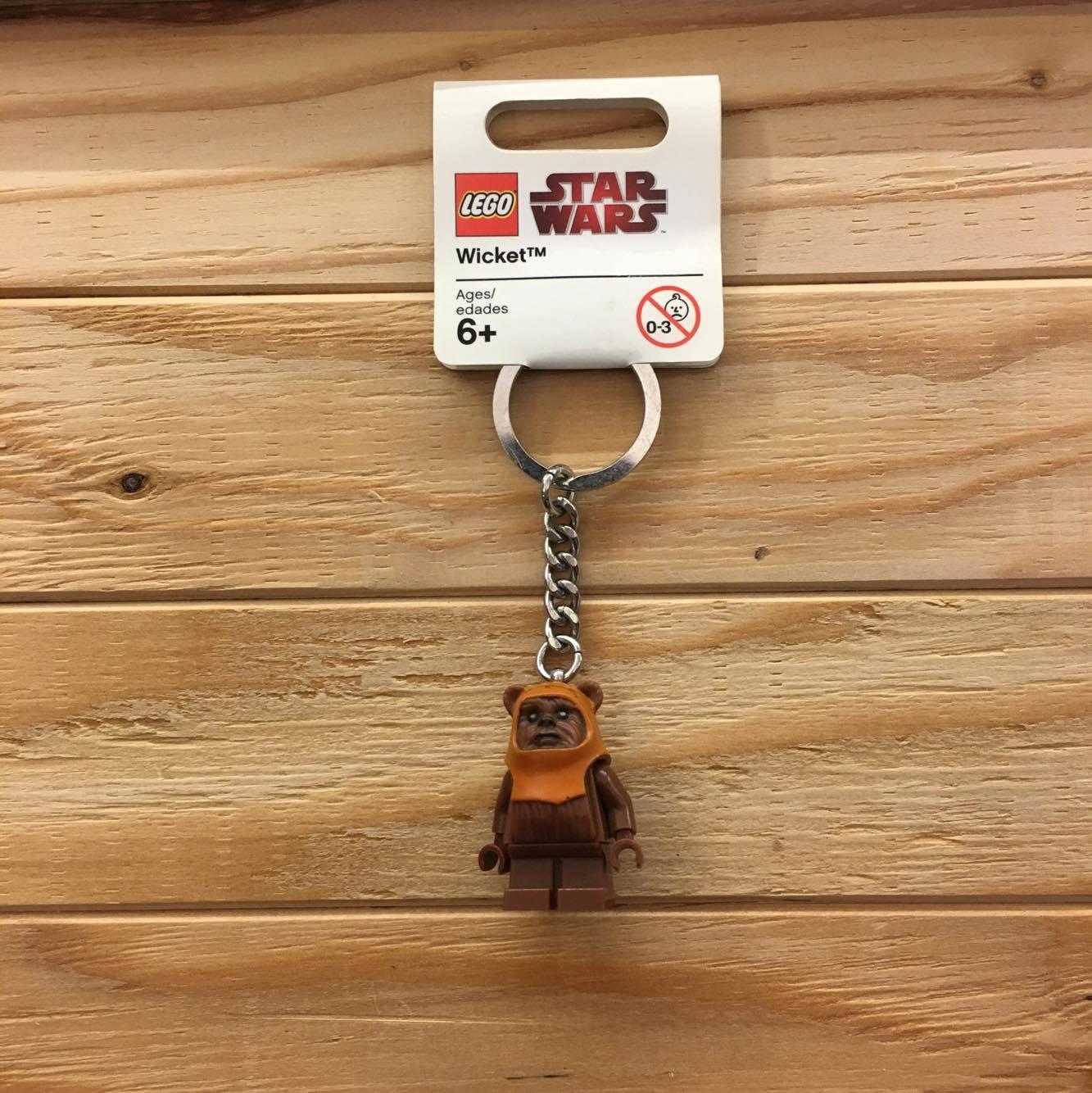 BEETLE LEGO STAR WARS 星際大戰 棕臉 伊娃族 樂高 積木 鑰匙圈 玩具 聖誕禮物