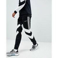 Adidas愛迪達,adidas愛迪達衣服/運動服推薦到KUMO SHOES-ADIDAS Originals 黑白 三線 縮口 窄版 直筒 口袋 運動 長褲 DJ3457