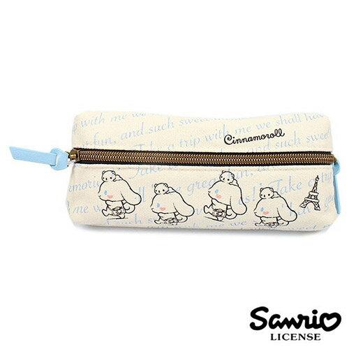 【 】大耳狗 Cinnamoroll 三麗鷗人物 雙層 筆袋 鉛筆盒 Sanrio - 857900