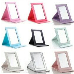 美麗工匠 高級PU 瑞士進口鏡面 隨身攜帶 化妝鏡 美妝鏡 鏡子 梳妝鏡 摺疊鏡 梳妝台鏡子 梳妝檯鏡子