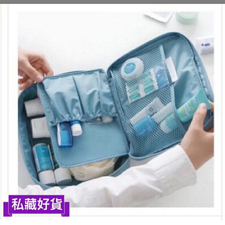 現貨 出門玩的收納好幫手 化妝品 收納 攜帶式 收納包 刷具包 防水 旅行