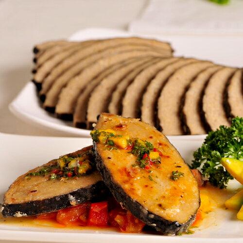 鮮味雪餘 800g (無香精配方)  切片 ★愛家純素美食~ 素食料理 全素鱈魚排  素排餐 0