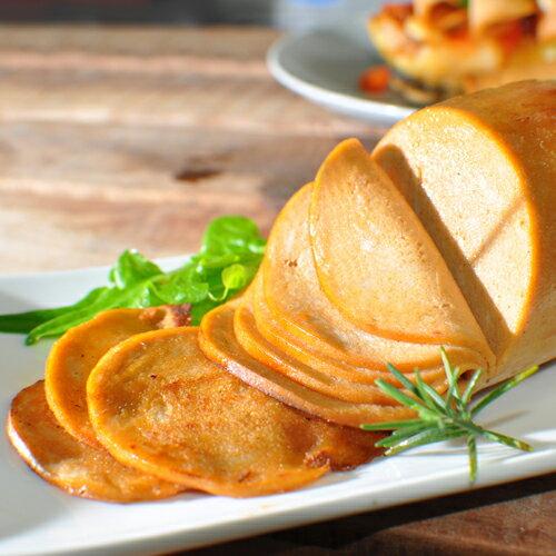 【新吉樂火腿 1kg】愛家純素火腿 非基改純淨素食 全素美食