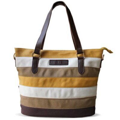 斜背包帆布肩背包-夏季時尚撞色拼布條紋女包包73st60【獨家進口】【米蘭精品】
