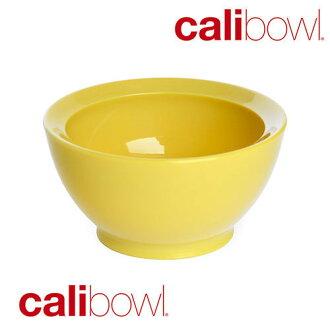 美國 Calibowl 專利防漏幼兒學習碗 8oz (單入) -黃色