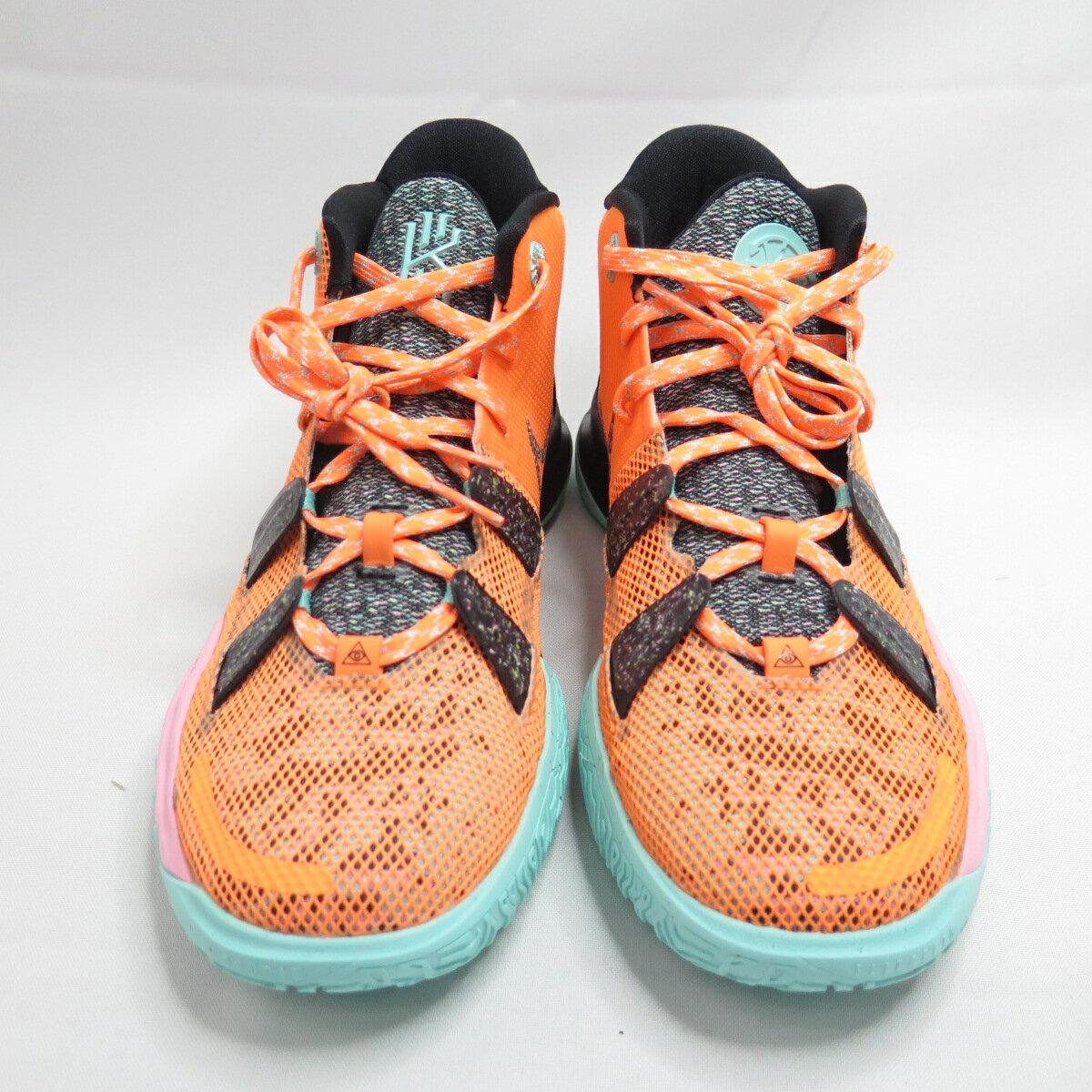 NIKE KYRIE 7 ASW (GS) 大童 籃球鞋 CW3235800 橘【iSport愛運動】