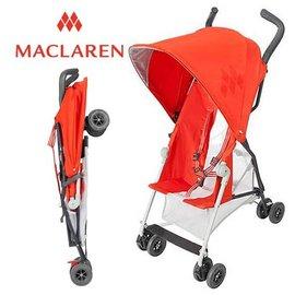 *babygo*輕量上市 Maclaren Mark II 嬰兒手推車【橘紅色】