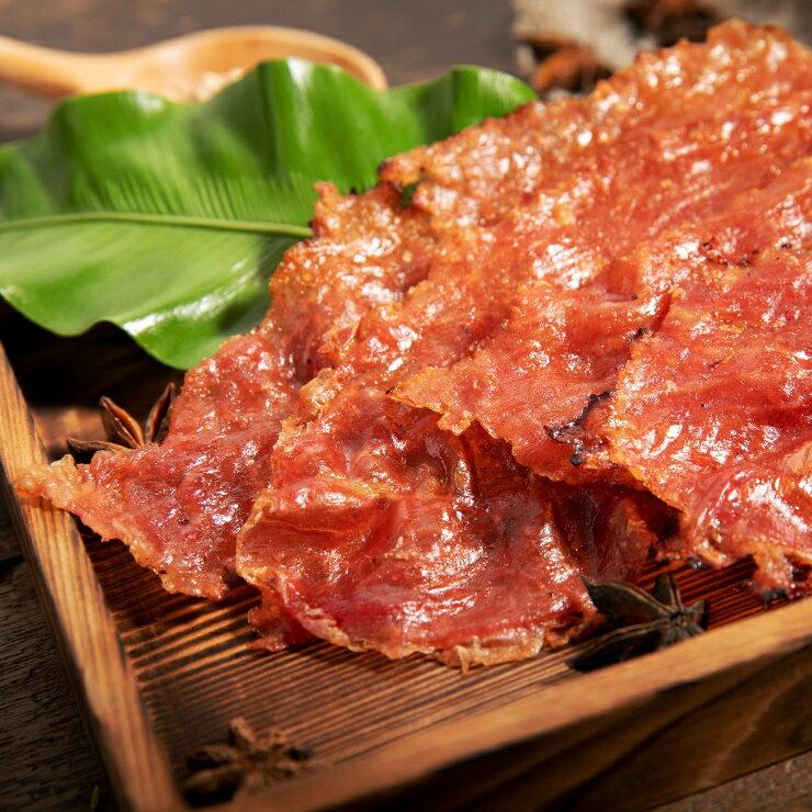 嚴選原味豬肉紙 180g / 包 肉乾 零嘴 台灣製造 新鮮食材 特選豬肉 0