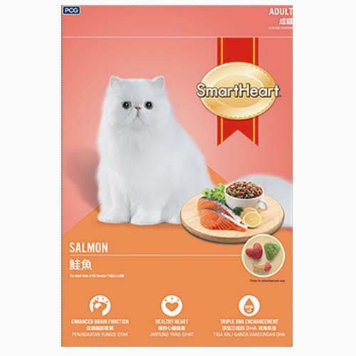 慧心貓糧鮭魚口味1.2KG【愛買】