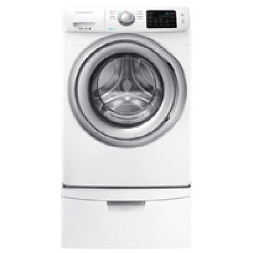Samsung WF5200 4.2 cu. ft. Front Load Washer - 9 Mode(s) - Front Loading - 4.20 ft Washer Capacity - 1200 rpm - 120 V AC Input Voltage - 115 kWh Energy Consumption per Year - Stainless Steel Drum - White 8f3eb36dc93130b3d328b7b04023f9e5