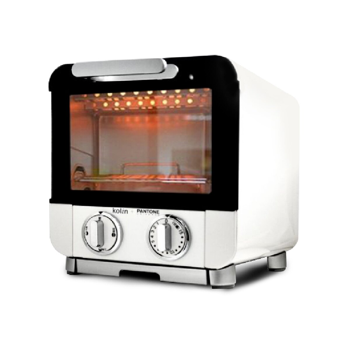 (預購)出貨【Kolin x Pantone聯名款】8L 雙旋鈕電烤箱 歌林 家用烤箱 烤吐司 烤麵包機 上下火烤爐 餅乾 烘培