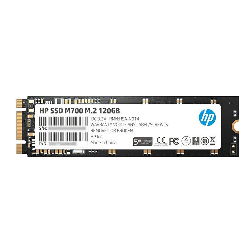 HP SSD M700 M.2 - 120GB ( 3DV75AA M700 M.2 120G ) 固態硬碟 無轉接卡★★★ 全新原廠公司貨★★★含稅附發票