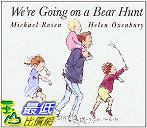 [106美國直購] 2017美國暢銷兒童書 We're Going on a Bear Hunt (Classic Board Books) Board book