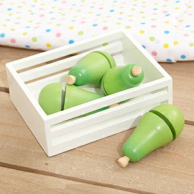 ※丹麥Image toys magni木頭玩具 西洋梨組
