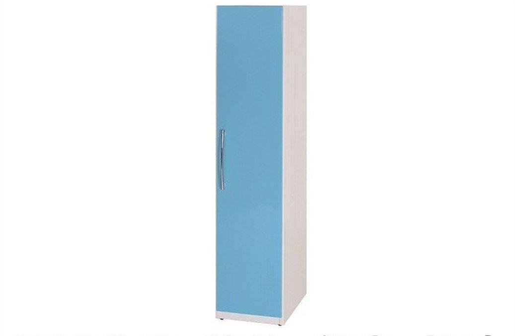 【石川家居】821-04 (藍/白色) 衣櫥 (CT-108) #訂製預購款式 #環保塑鋼P 無毒/防霉/易清潔