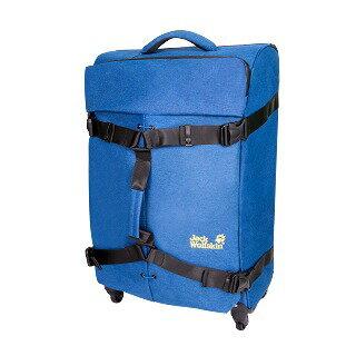 Jack Wolfskin 飛狼20吋雙拉桿超輕行李箱-藍