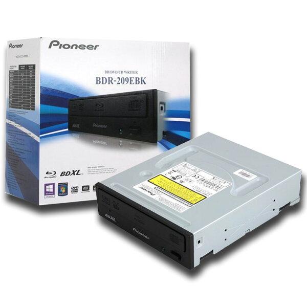 【滿3千15%回饋】Pioneer先鋒牌BDR-209EBK16X藍光燒錄機BDXL(SATA介面)