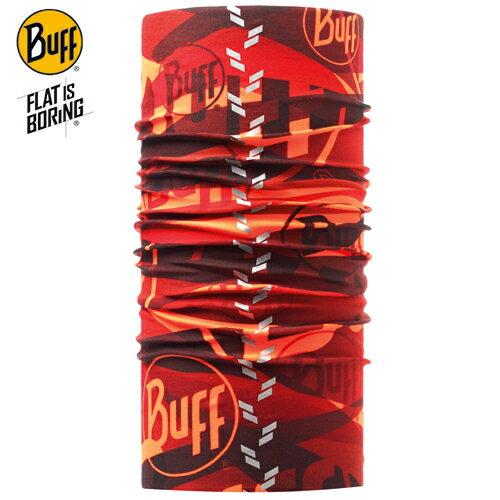 【【蘋果戶外】】BF108894西班牙BUFF魔術頭巾赤道光逆反光頭巾透氣吸汗速乾登山單車