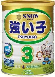 雪印奶粉 金強子3號900g