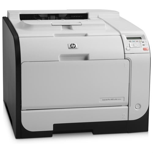 HP M451nw LaserJet Pro 400 Color Printer 0