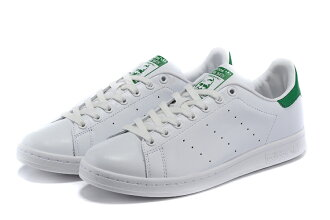 Adidas Originals stan smith 男女情侶鞋 (白綠36-44)