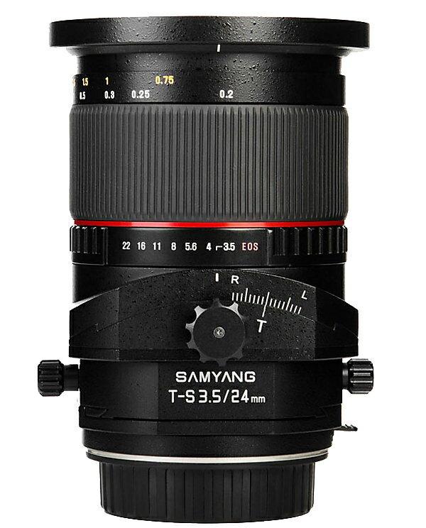 Samyang 鏡頭專賣店: 24mm/F3.5 ED ASPH 移軸鏡(Nikon AIS,FM2,D3,D4,D70,D90,D600,D700,D800)