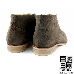 寺孝良品 英倫摩登牛巴戈沙漠短靴 咖啡 4